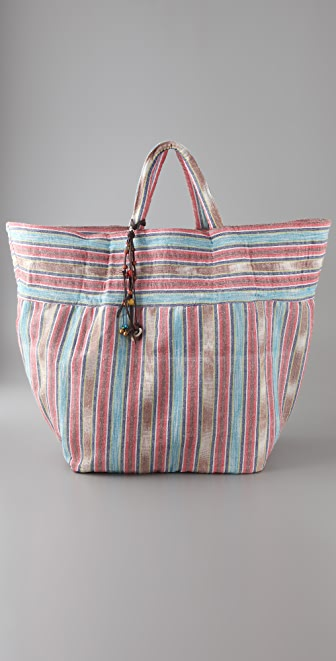 JADEtribe Samui Stripe Beach Bag
