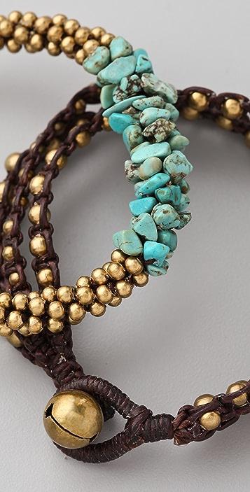 JADEtribe Cluster Beaded Bracelet Set
