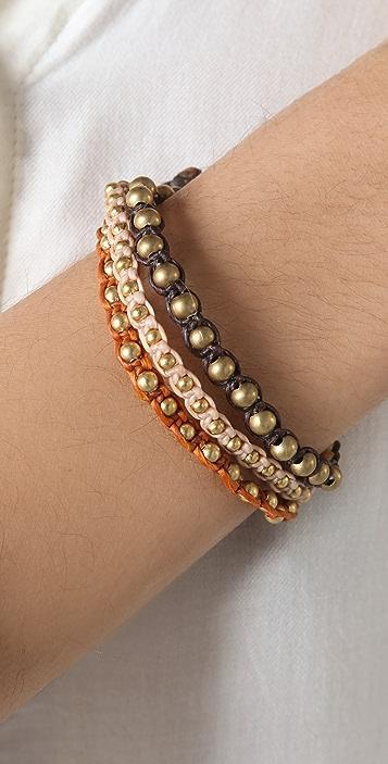 JADEtribe 3 Strand Beaded Bracelet