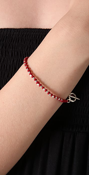 JADEtribe Square Beaded Bracelet