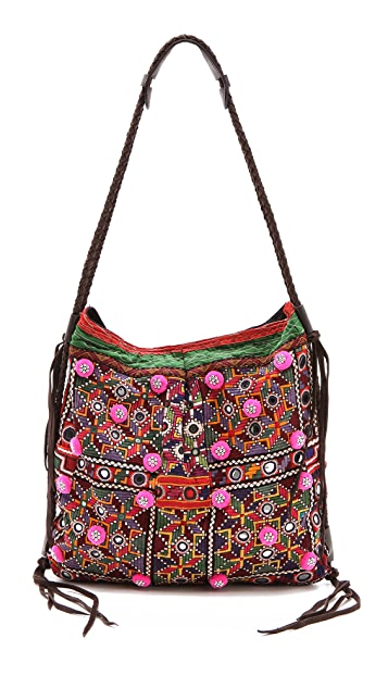 JADEtribe Antique Embroidered Bag