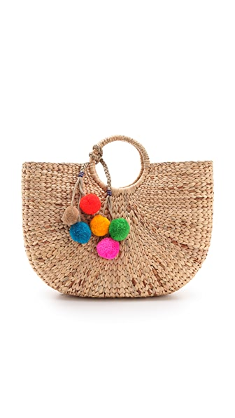 JADEtribe Large Beach Basket Tote | SHOPBOP