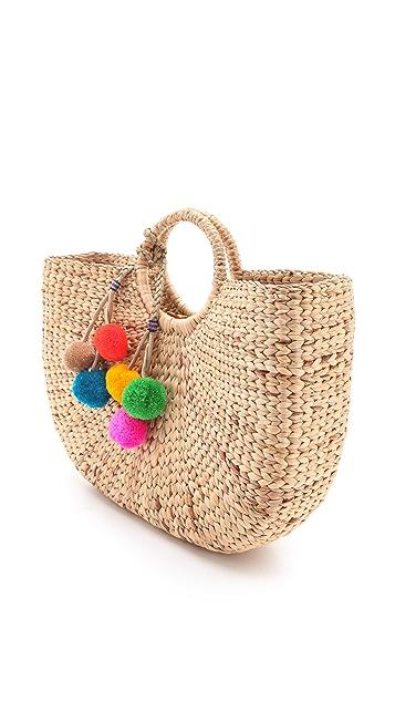 JADEtribe Large Beach Basket Tote