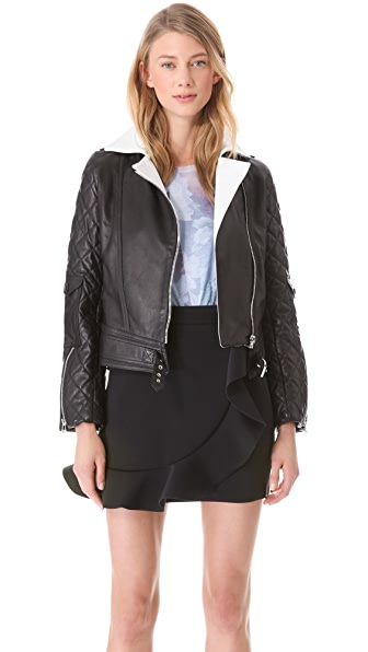 J.W. Anderson Leather Biker Jacket