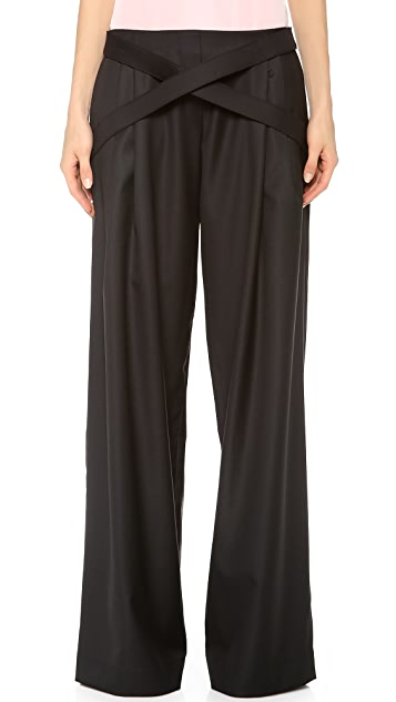 J.W. Anderson Trousers with Straps