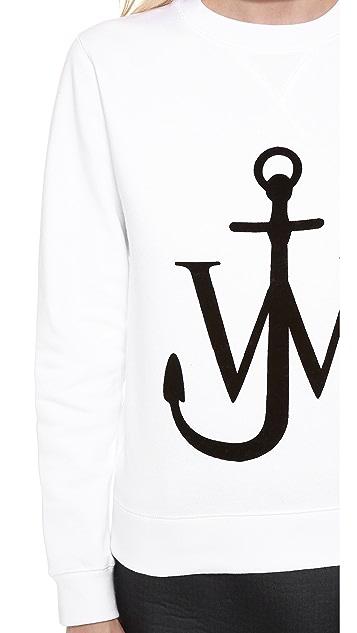 J.W. Anderson Logo Sweater Top