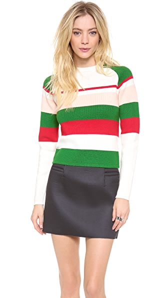 J.W. Anderson Striped Cashmere Sweater