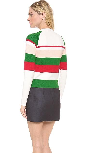 J.W. Anderson Striped Cashmere Sweater