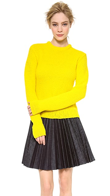 J.W. Anderson Slip Stitch Sweater