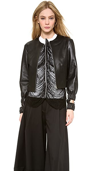 J.W. Anderson Cutout Bomber Jacket