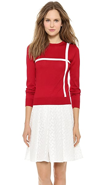 J.W. Anderson Cross Crew Neck Sweater