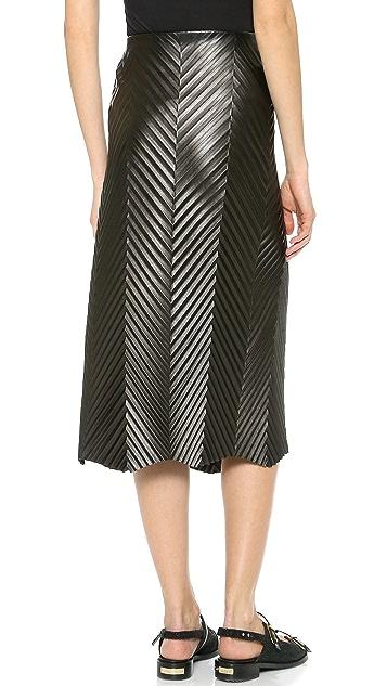J.W. Anderson Herringbone Skirt