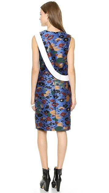 J.W. Anderson Jacquard Twill Look Panel Dress