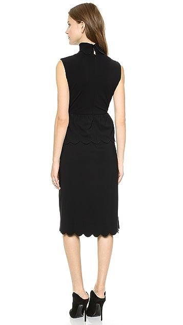 J.W. Anderson Scallop Dress
