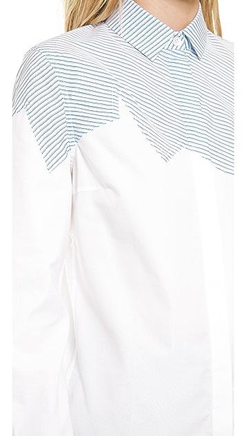 J.W. Anderson Jagged Yoke Shirt