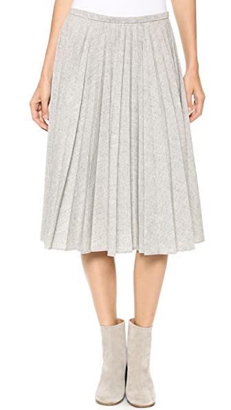 J.W. Anderson Fan Pleat Skirt
