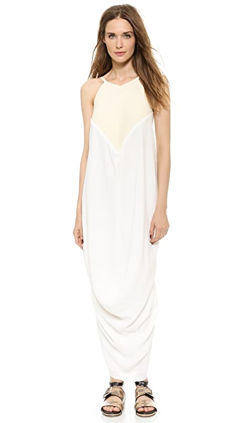 J.W. Anderson Draped Halter Dress