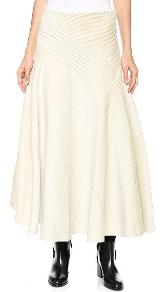 J.W. Anderson Spiral Skirt