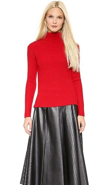 J.W. Anderson Folded Neck Sweater