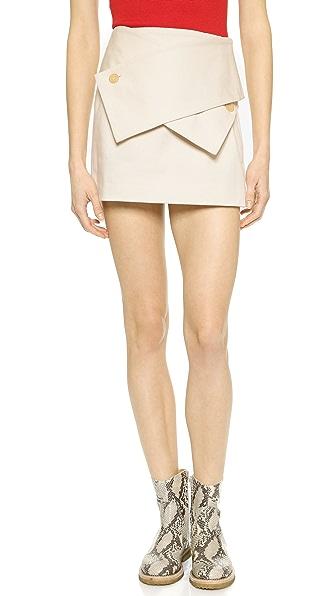 J.W. Anderson Wrap Miniskirt