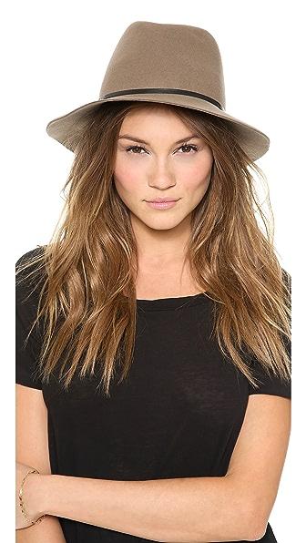 Janessa Leone Lola Hat - Sand