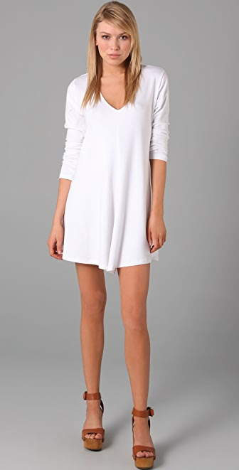 Jarbo V Neck Mini Dress