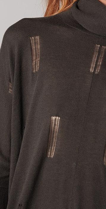 Jarbo Turtleneck Poncho Sweater