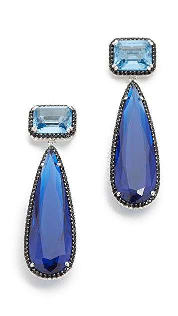 Jarin K Elongated Pear Drop Earrings