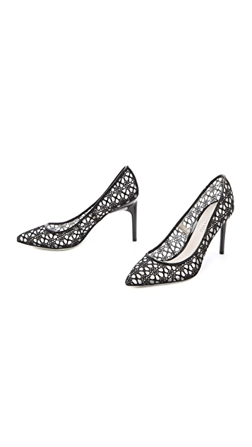Jason Wu Sigrid Lace Mesh Pumps