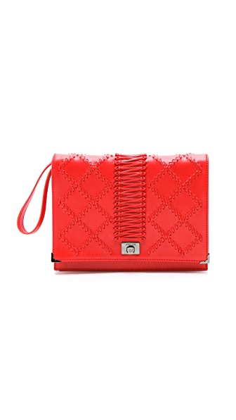 Jason Wu Jourdan Wristlet Quilted Clutch