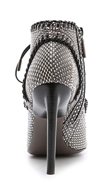 Jason Wu Evelyn Peep Toe Booties