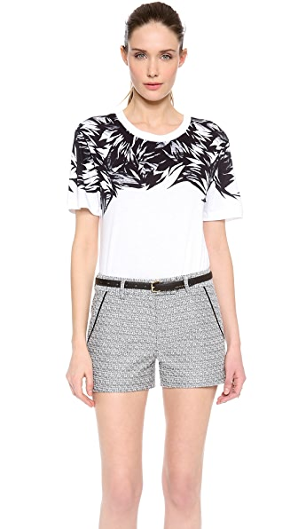 Jason Wu Botanical Print Cotton Tee