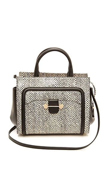 Jason Wu Daphne 2 Watersnake Cross Body Bag