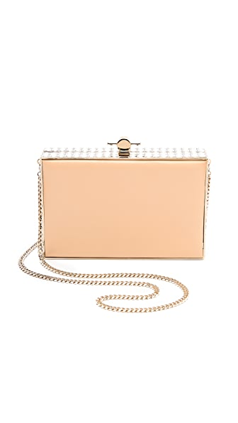 Jason Wu Karlie Leather Box Clutch