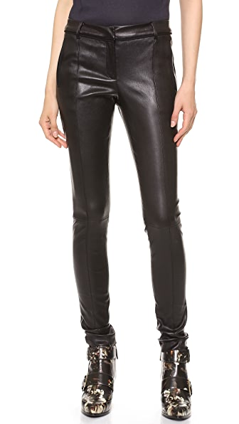 Jason Wu Stovepipe Leather Pants