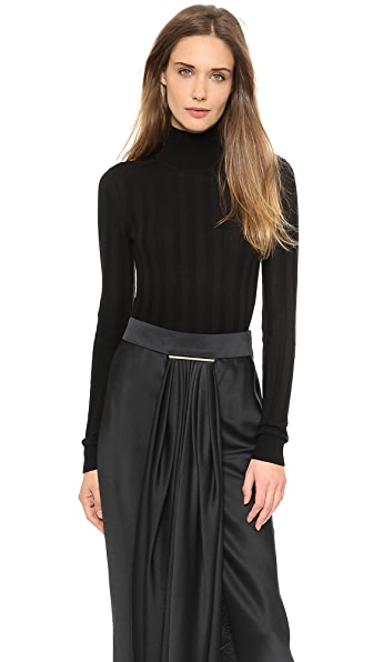 Jason Wu Wool Mock Neck Pullover