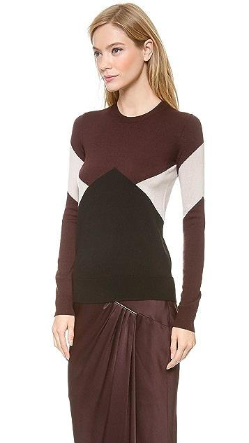 Jason Wu Wool Intarsia Pullover