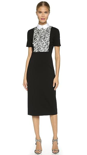 Kupi Jason Wu online i prodaja Jason Wu Collar & Bib Knit Dress Black haljinu online
