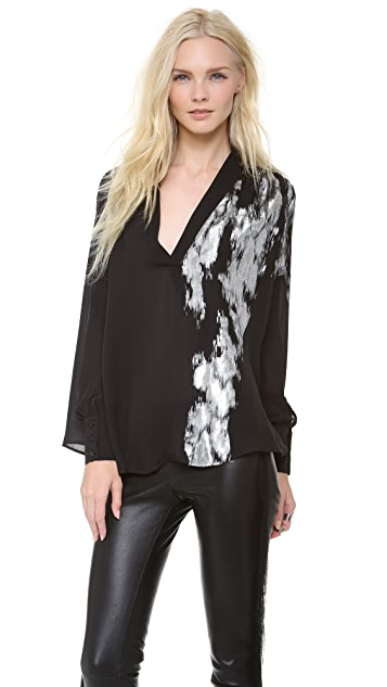 Jay Ahr V Neck Blouse