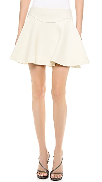 Jay Ahr Pleated Miniskirt