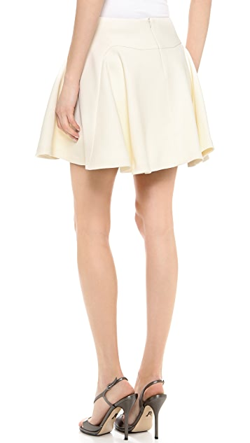 Jay Ahr Pleated Miniskirt