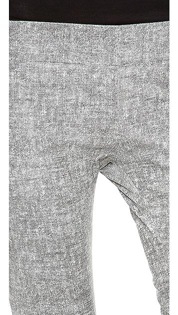 Jay Ahr Leather Trompe l'Oeil Pants