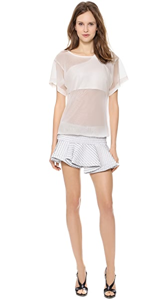Jay Ahr Short Sleeve Dress