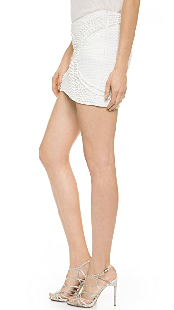 Jay Ahr Embellished Miniskirt