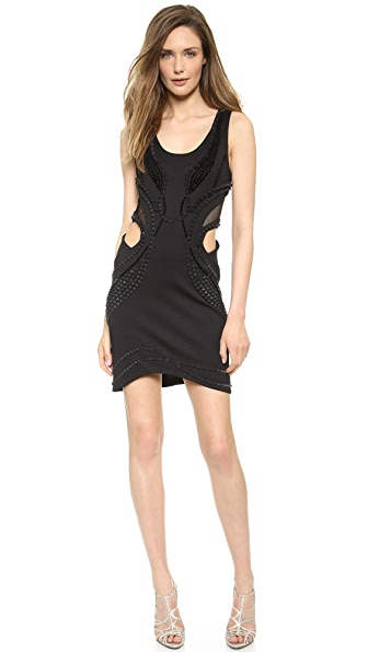 Jay Ahr Cutout Dress