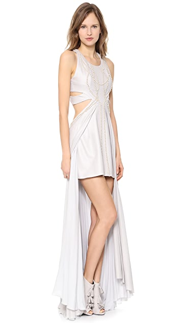 Jay Ahr Sleeveless Gown