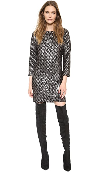 Jay Ahr Long Sleeve Dress