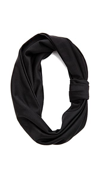 Jennifer Behr Silk Jersey Turban Headband