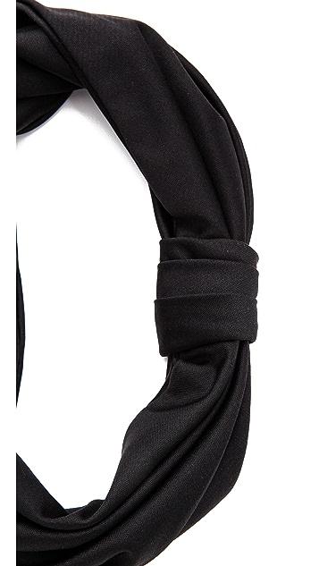 Jennifer Behr Silk Jersey Turban Headband
