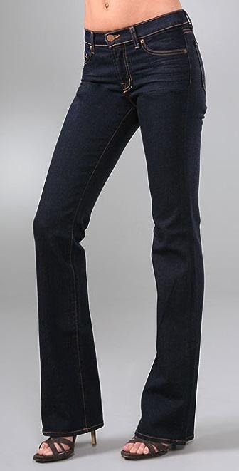 "J Brand 9"" Midrise 18"" Boot Cut Jeans"